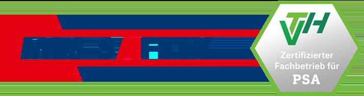 MLS SAFETY: VTH Zertifizierter Fachbetrieb für PSA
