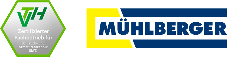 VTH Zertifizierter Fachbetrieb für Schlauch- und Armaturentechnik (SAT): MÜHLBERGER