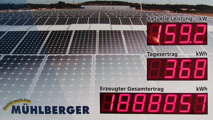 Photovoltaikanlage in Mainz