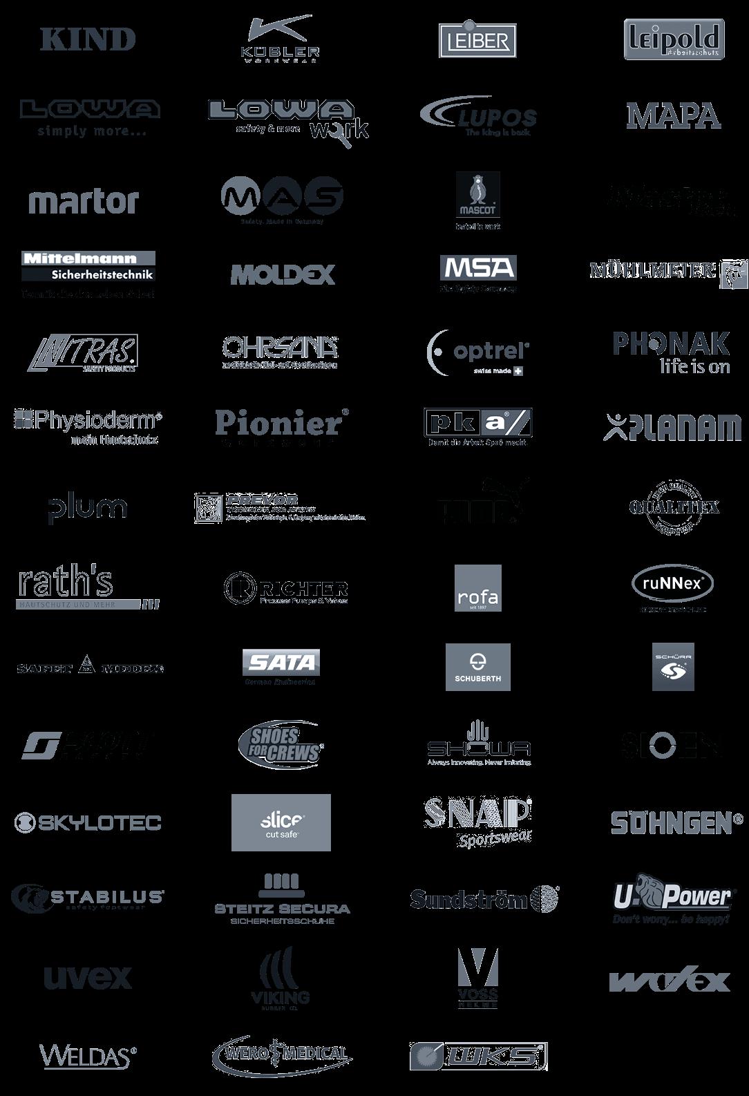 Unsere PSA-Marken von KIND bis WKS