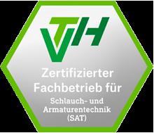 VTH Zertifizierter Fachbetrieb für Schlauch- und Armaturentechnik